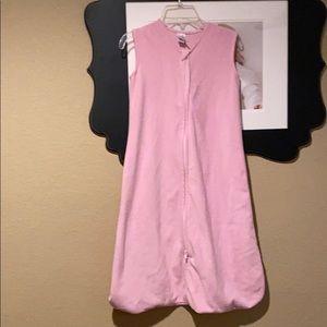 HB pink sleep sack XL Size: 18-24M 26-36LBS